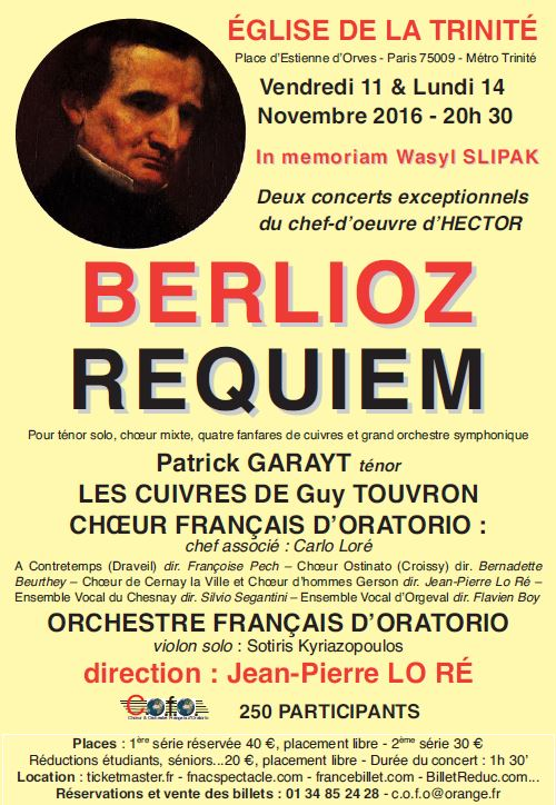 FLYER BERLIOZ - RECTO