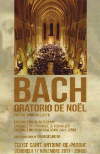 L'Oratorio de Noël de J S Bach