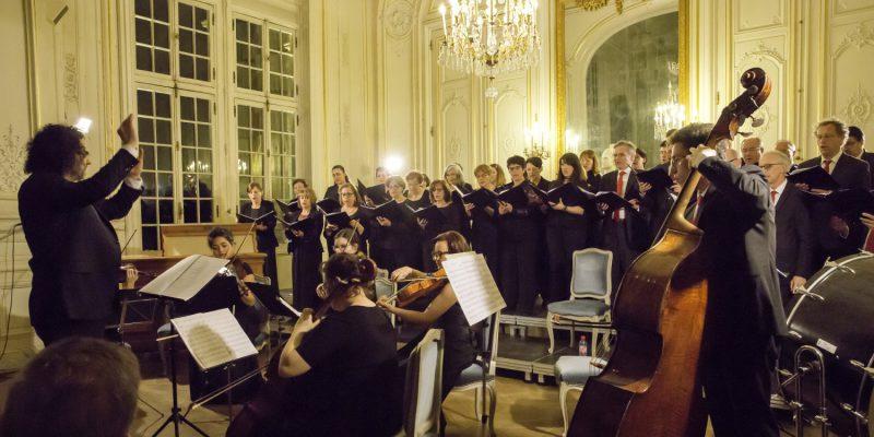 Dixit Dominus de Haendel - Hôtel de ville de Versailles