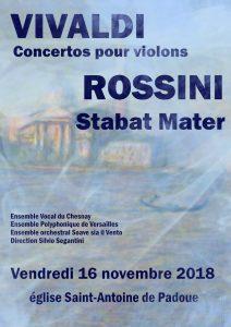 Souvenirs d'Italie : Vivaldi - Rossini
