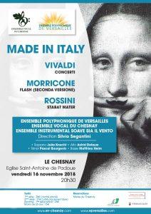 Made in Italy : Vivaldi - Rossini