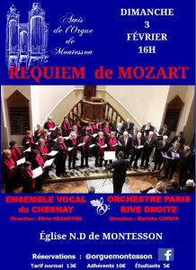 Requiem de Mozart à Montesson