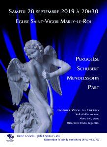 Concert pour choeur et piano