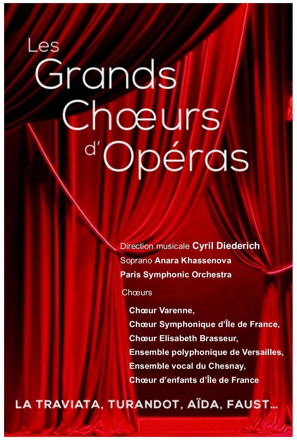 Le Rendez Vous Enchanté Le Chesnay grands chœurs d'opéras - ensemble vocal du chesnay -