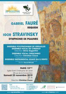 Fauré - Stravinsky