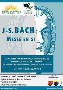 Messe en Si de J S Bach